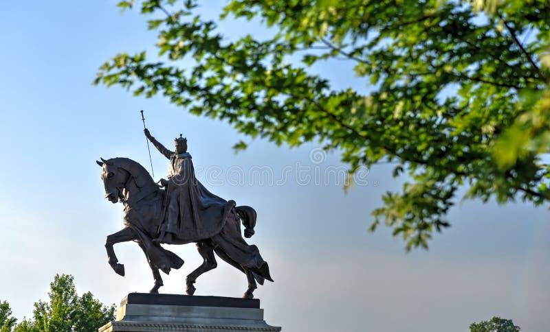 St. Louis Statue stock photo