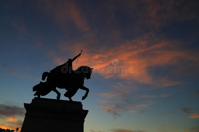 St. Louis Statue royalty free stock photo