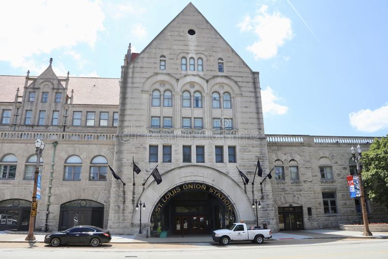 St Louis Union Station fotografía de archivo libre de regalías
