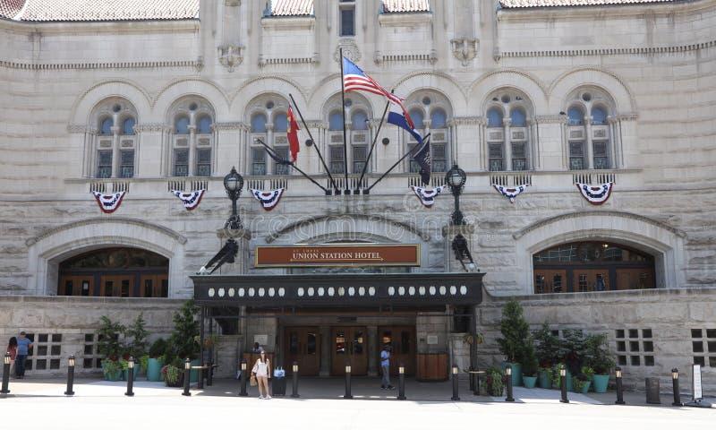 St Louis Union Station Hotel photo libre de droits