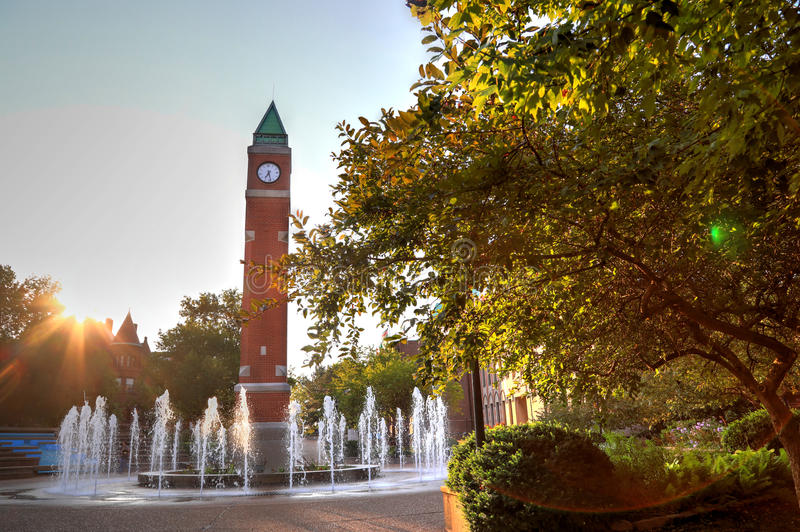 St. Louis University royalty free stock photos
