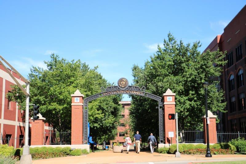 St. Louis University, Missouri lizenzfreies stockfoto