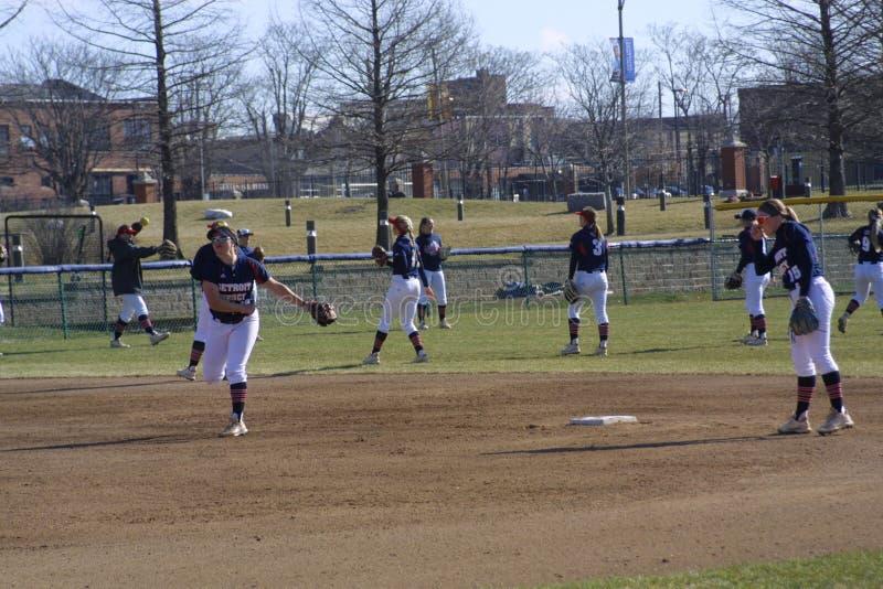St Louis University Softball 2019 VII photo libre de droits