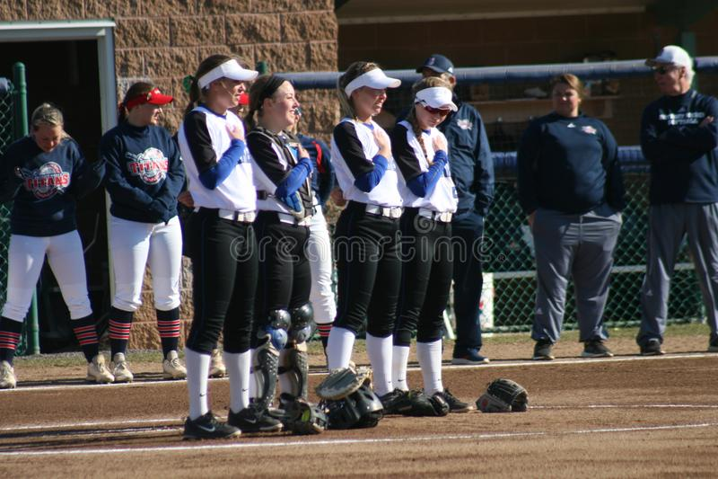 St Louis University Softball 2019 XXII image stock