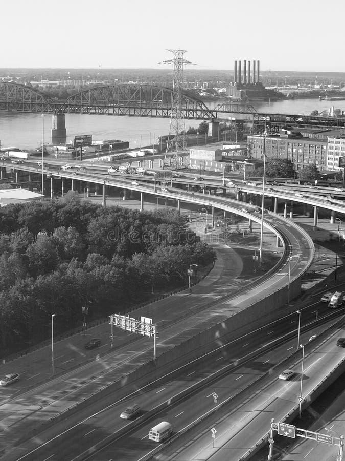 St.- Louisdatenbahn stockfotos