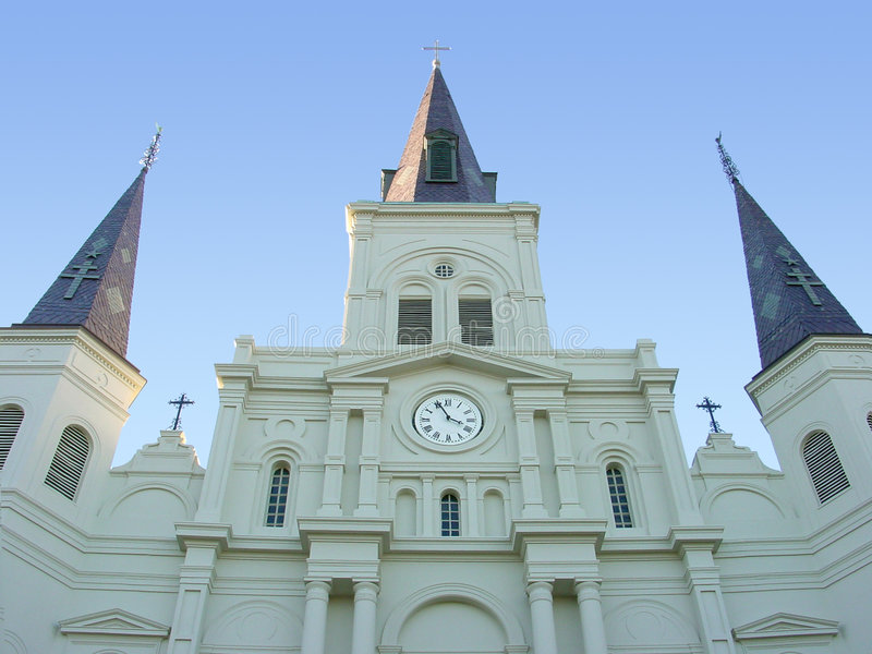 St.- Louiskathedrale lizenzfreie stockfotos