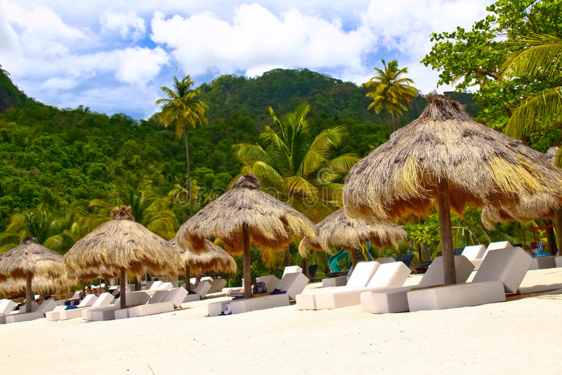 St Lucia - Ihr tropisches Entweichen erwartet? stockfotos