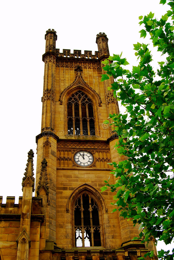 Free St. Luke Cathedral In Liverpool Royalty Free Stock Photography - 7989577