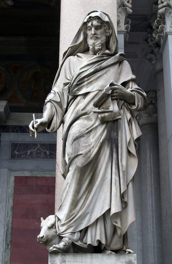 St Luke evangelisten royaltyfri fotografi