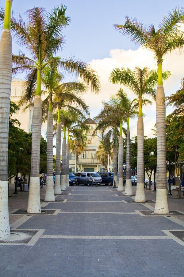 St Maarten tropical island stock image