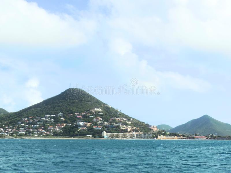 St Maarten wybrzeże fotografia royalty free