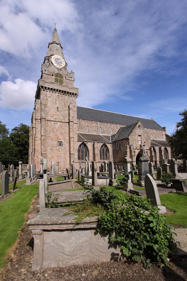 Download St Machar De Kerk Van De Kathedraal, Aberdeen Stock Foto - Afbeelding bestaande uit begraafplaats, herdenkings: 10783012
