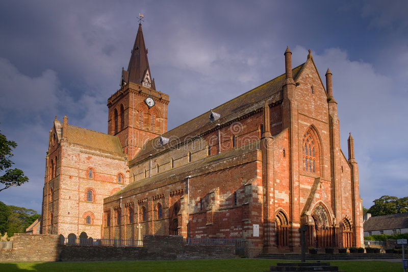 St magnus cathedral stock images