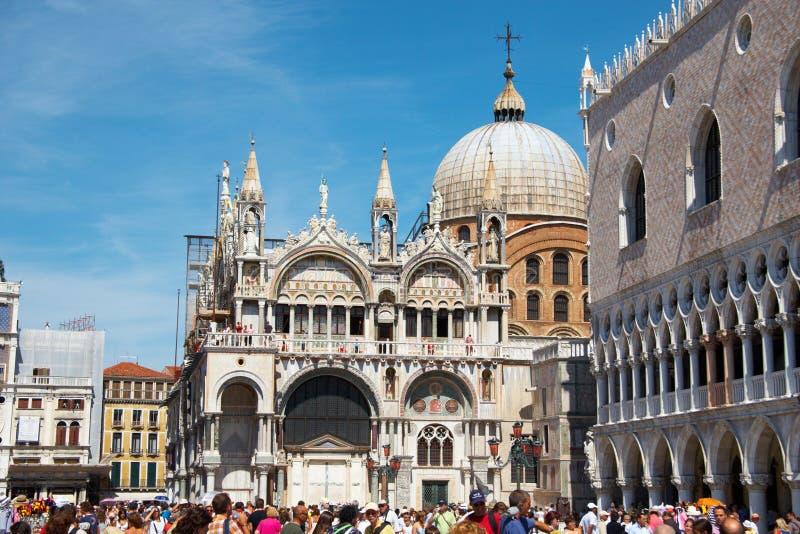 St. Marco vierkant royalty-vrije stock afbeelding