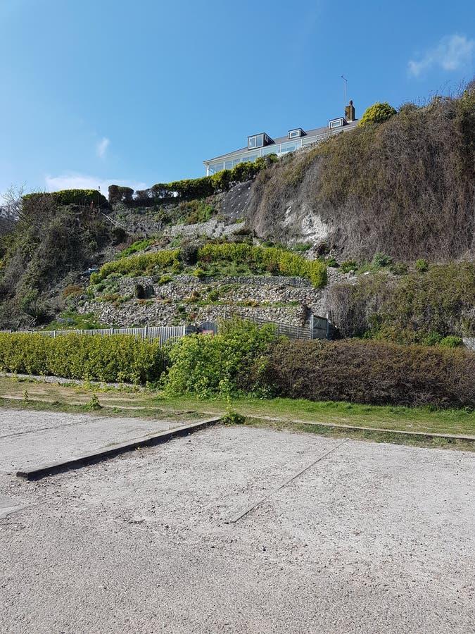 St Margaret à la falaise photographie stock