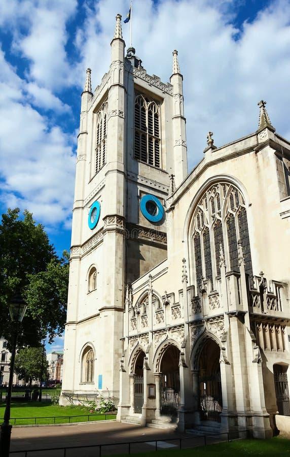 St Margaret Church na abadia de Westminster em Londres, Reino Unido imagem de stock royalty free