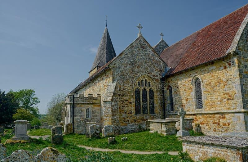 St Margaret die K?nigin-Kirche 13. Jahrhundert Buxted sussex stockbilder