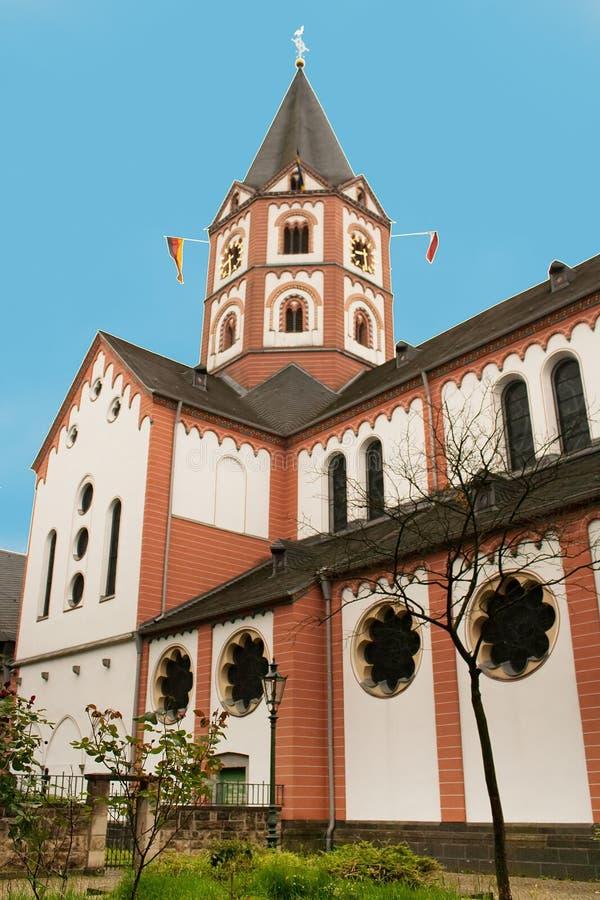 St Margareta da igreja no distrito de Gerresheim, Dusseldorf fotos de stock