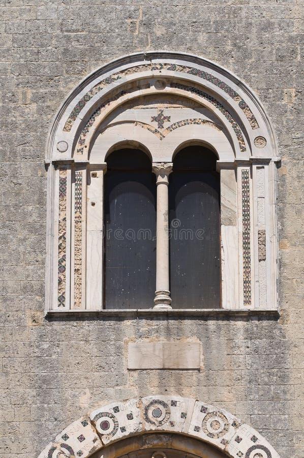 St. Maria in Castello-Kerk. Tarquinia. Lazio. Italië. stock foto's