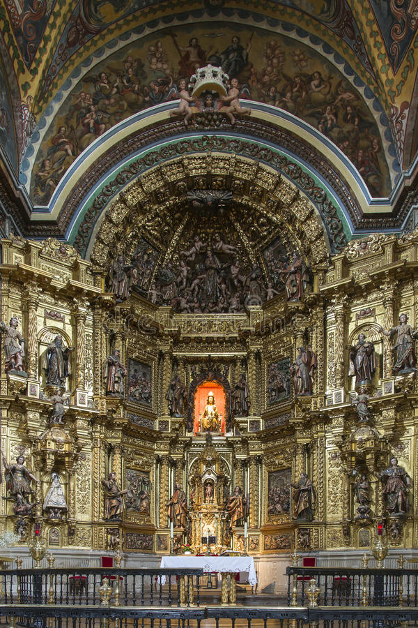 Free St. Maria Church In Los Arcos, Navarre. Spain. Royalty Free Stock Photography - 40978327