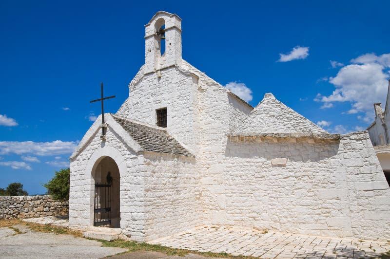 St. Maria di Barsento Church. Noci. Puglia. Italië. royalty-vrije stock fotografie