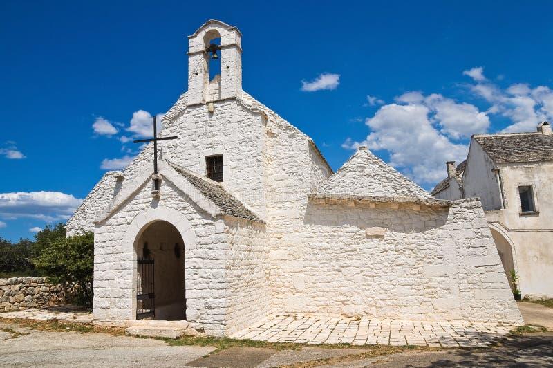 St. Maria di Barsento Church. Noci. Puglia. Italia. fotografía de archivo