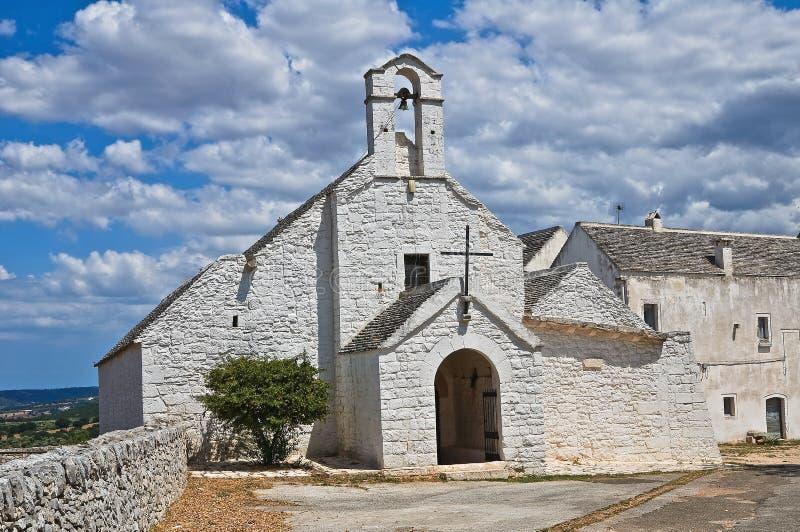 St. Maria di Barsento Church. Noci. Puglia. Italia. imagenes de archivo