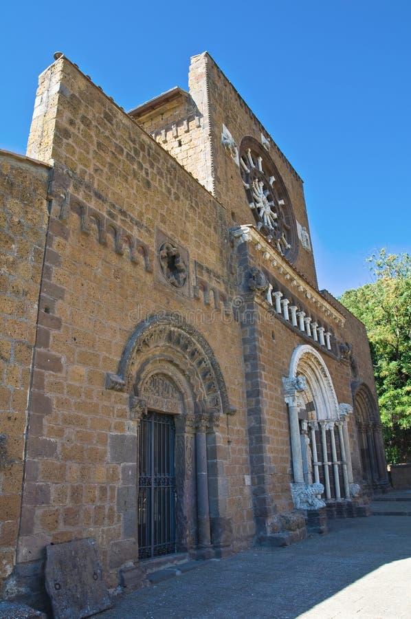 Free St. Maria Maggiore Basilica. Tuscania. Lazio. Ital Stock Image - 26151041