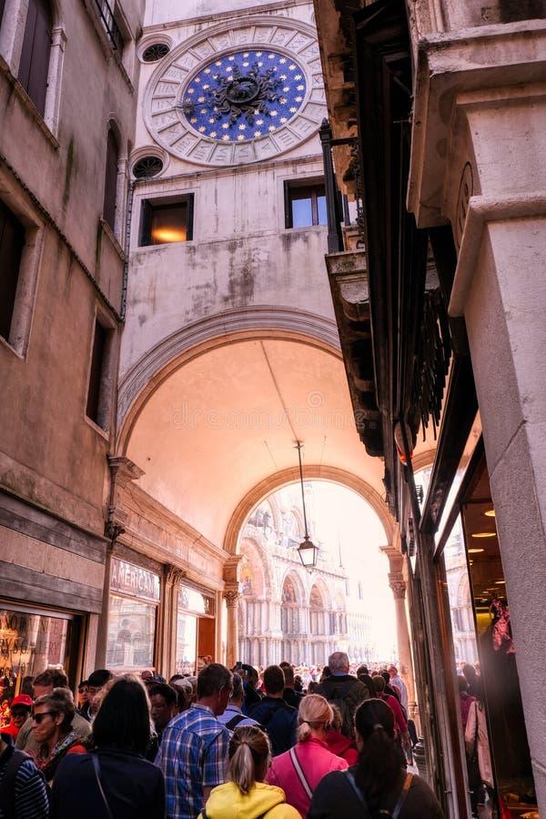 St Mark Clocktower Torre dell, tak?e  zdjęcia royalty free