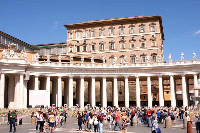 St Mark Place Vatican Rome Italy photographie stock