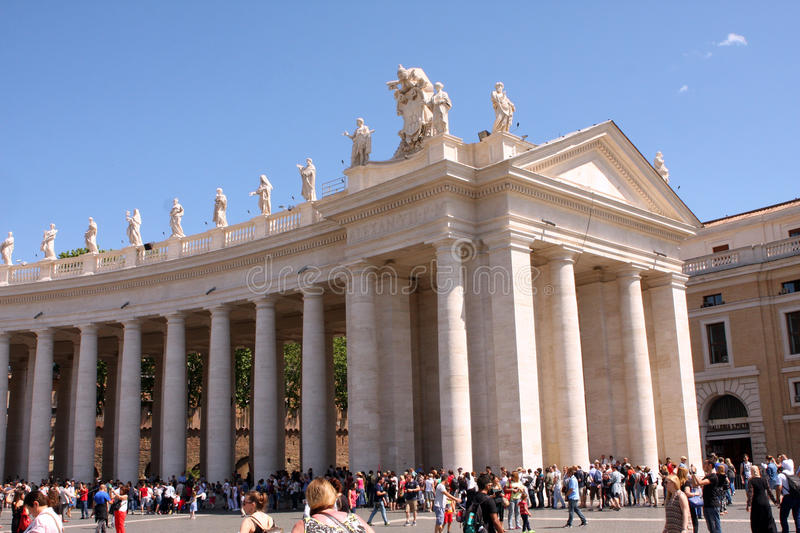 St Mark Place Vatican Rome Italy stock afbeelding