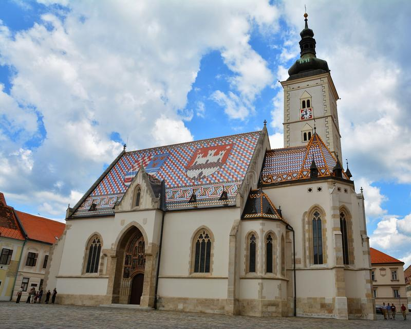 St Mark Roman Catholic Church stockbilder