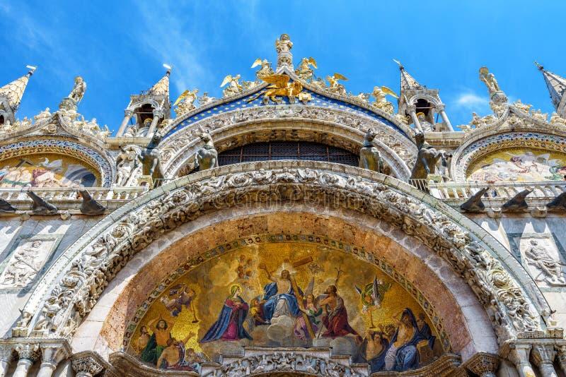 St Mark`s Basilica or San Marco, Venice, Italy royalty free stock photography