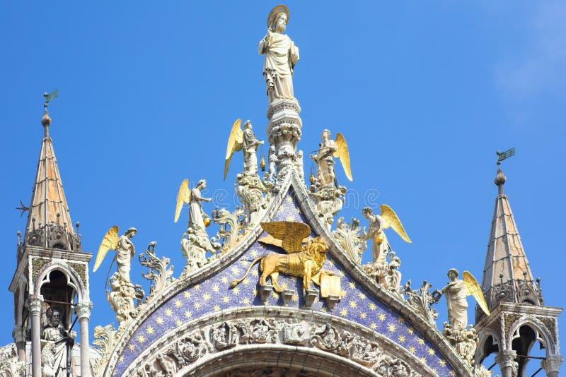 St Mark's Basilica, Venice royalty free stock photos