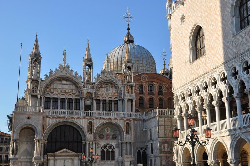 St. Mark's Basilica Venice royalty free stock photography