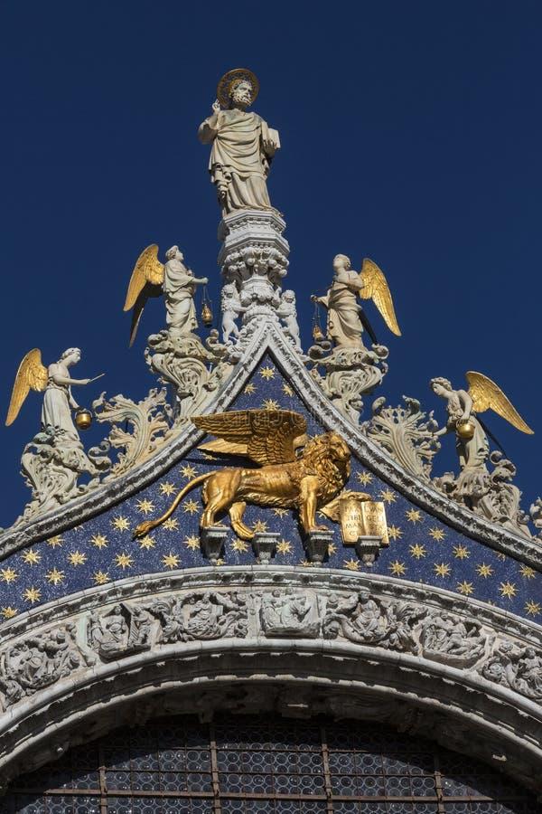 St Marks Basilica - Venice - Italy royalty free stock photos