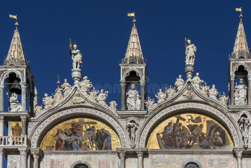St Mark's Basilica - Venice - Italy royalty free stock image