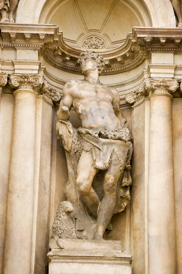 Download St Mark statue, Venice stock photo. Image of carving - 20470586