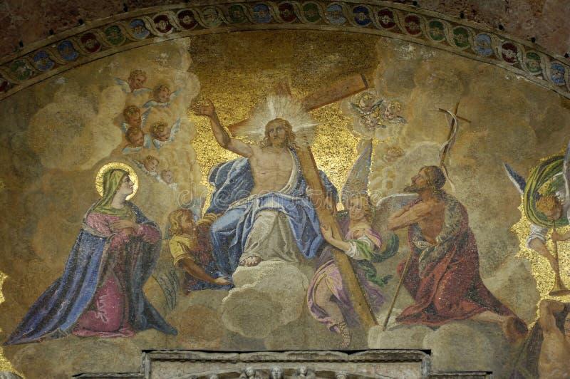 St- Markbasilika in Venedig lizenzfreie stockbilder