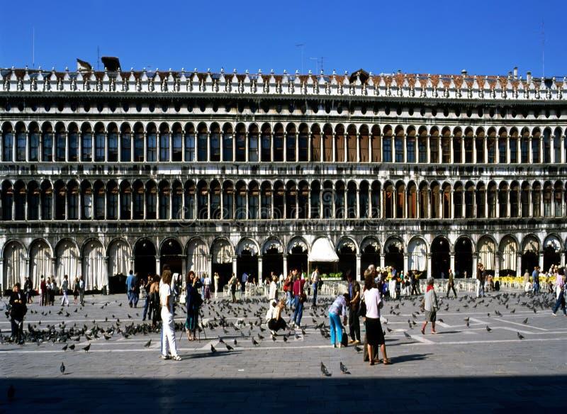 St.Marks Vierkant, Venetië royalty-vrije stock foto's