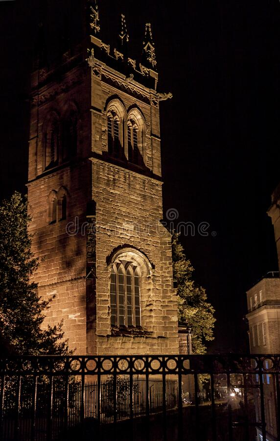 St. Marry Church, Chester, United Kingdom royalty free stock image