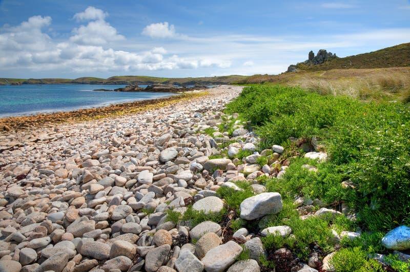 St Martin, îles de Scilly photographie stock libre de droits
