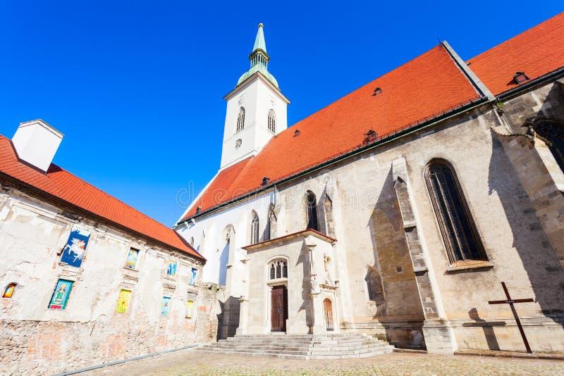 St. Martin Cathedral, Bratislava lizenzfreie stockbilder