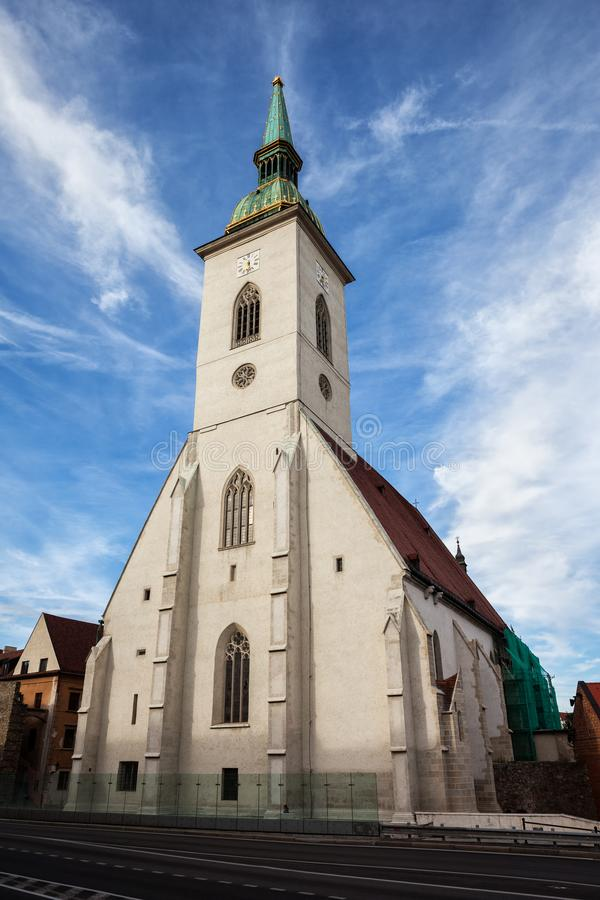 Free St. Martin Cathedral In Bratislava Royalty Free Stock Photos - 100588538