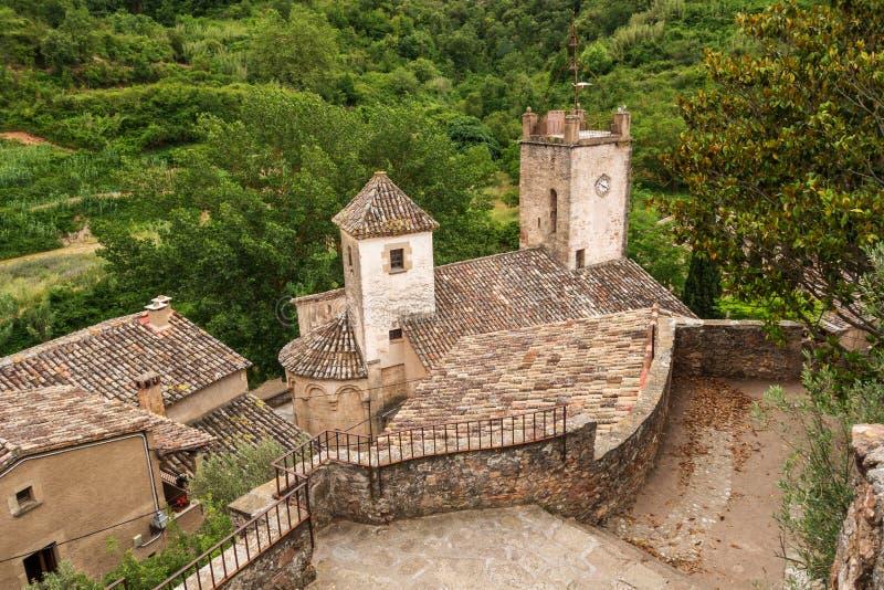 St. Martin church in Mura. Photograph of St. Martin church in Mura, Barcelona, Spain royalty free stock image