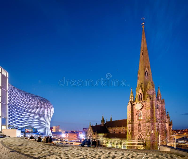 St Martin in de Stier Ring Birmingham England stock foto's