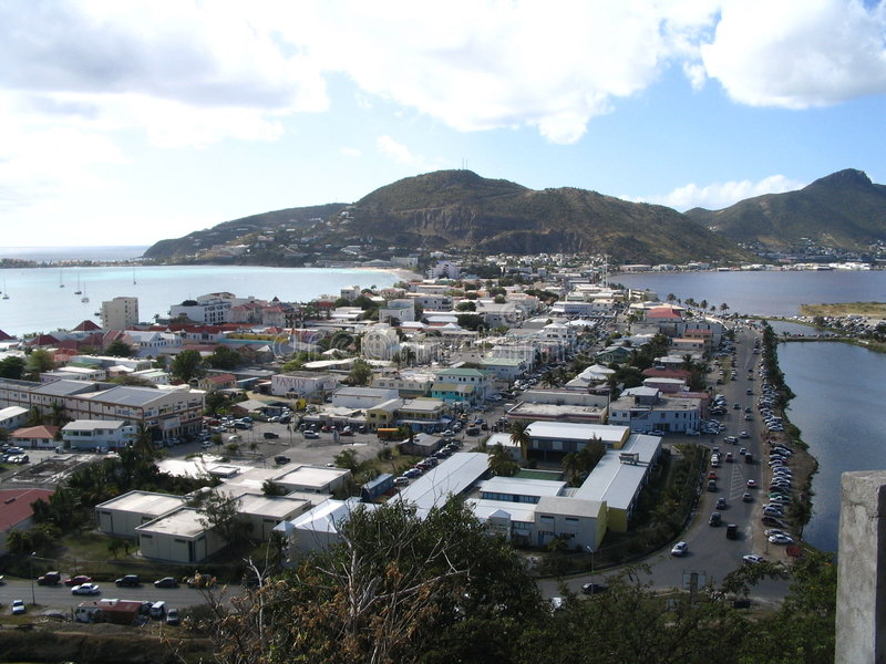 St, martin island royalty free stock images
