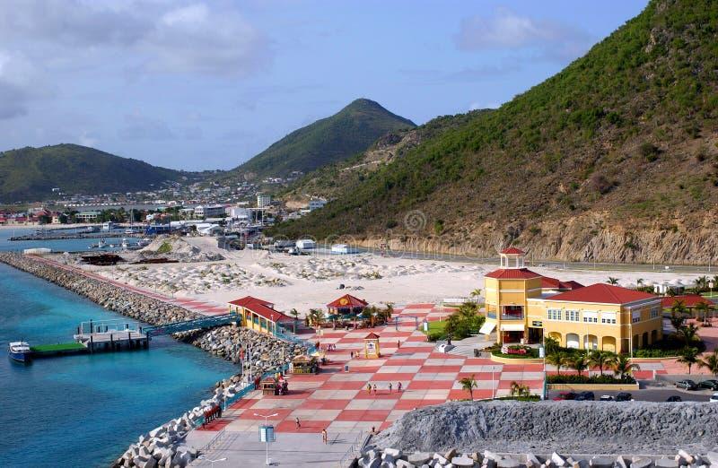 Download St. Martin Island Waterfront Stock Photo - Image: 522942