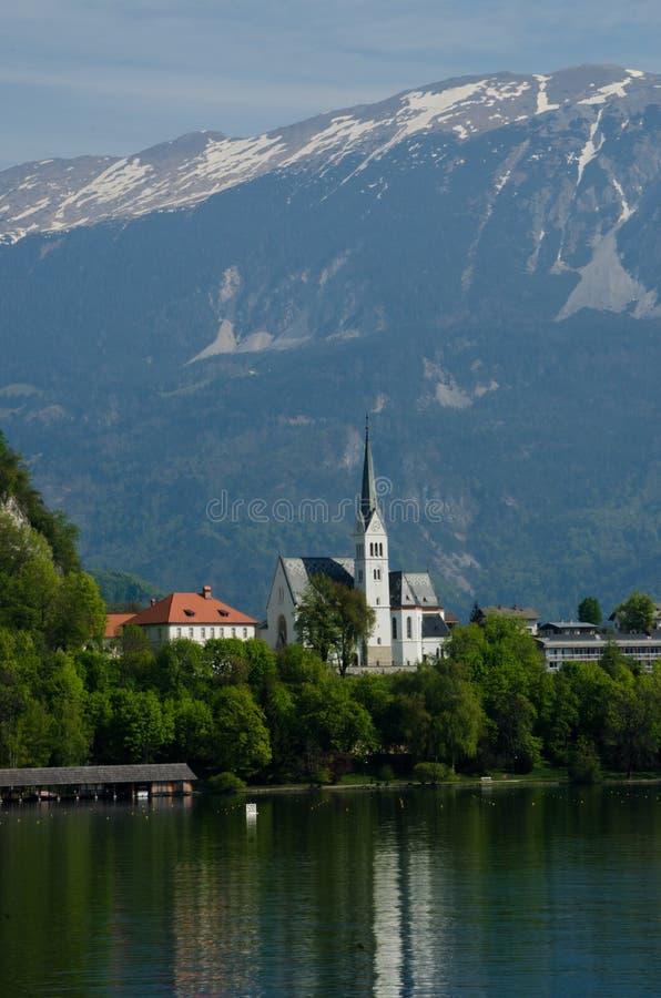 St Martin ` s Afgetapte Kerk stock foto