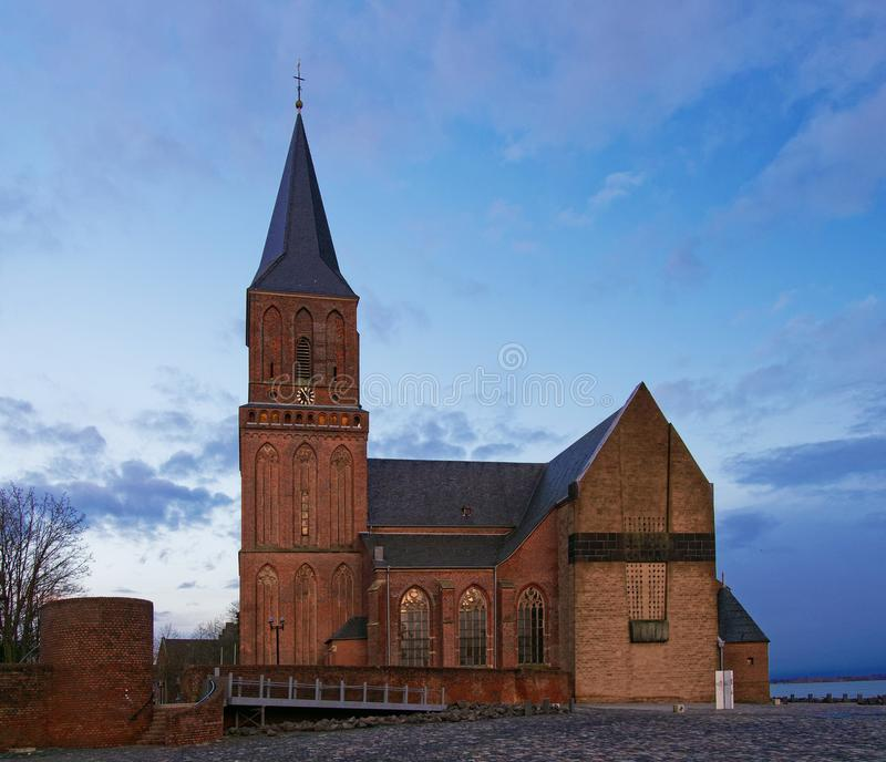 St. Martini church, Emmerich am Rhein, Germany royalty free stock photo